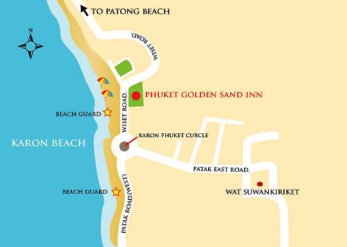 Et Hotels Resort Accommodation At The Golden Sand Inn Karon Beach